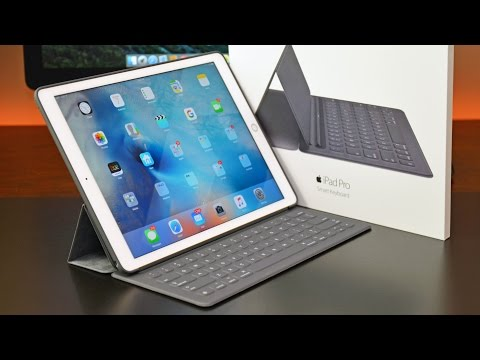 Apple iPad Pro Smart Keyboard: Unboxing & Review