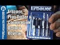Erbauer Plug Cutter Review and Demo. Erbauer tool review.