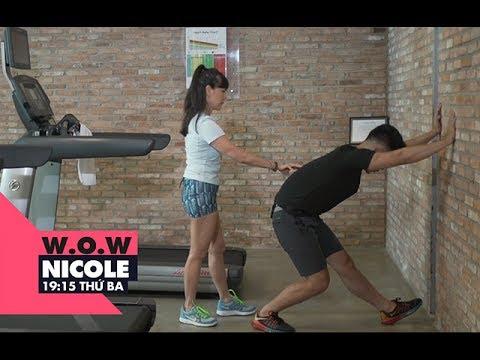 Bài tập Cardio chạy bộ đúng cách và hiệu quả | W.O.W Nicole | VIEW TV-VTC8