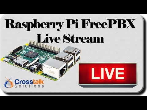 Raspberry Pi FreePBX setup LIVE STREAM