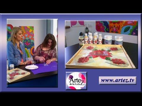 Ideas decoracion de bandeja y platos de vidrio youtube - Decoracion de platos ...