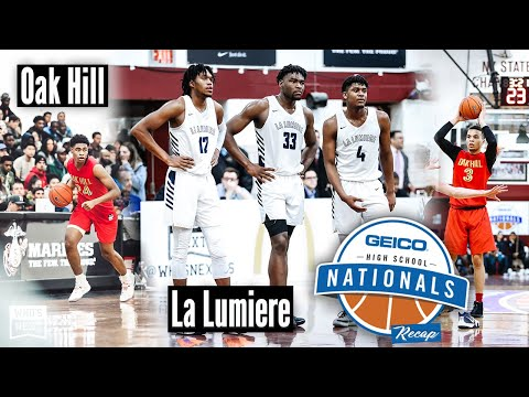 2019 GEICO Nationals: La Lumiere hangs on in the final seconds vs. Oak Hill
