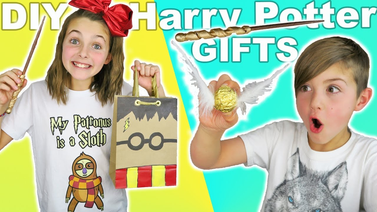 Diy Harry Potter Gifts Easy Kids Crafts Youtube