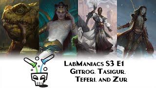 S3 Episode 1: Gitrog Combo vs Tasigur Control vs Chain Veil Teferi vs Shimmer Zur cEDH Gameplay