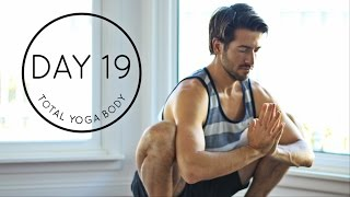 Video Day 19 Total Yoga Body: 20 minute Strength Balance and Flexibility Morning Vinyasa Flow Workout download MP3, 3GP, MP4, WEBM, AVI, FLV Maret 2018