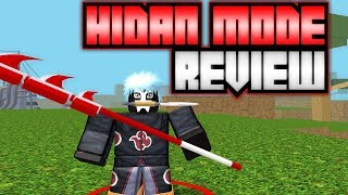 NEW HIDAN MODE REVIEW/SHOWCASE IN NARUTO RPG: BEYOND | Roblox