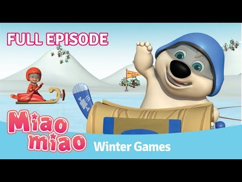 Miaomiao Winter Olympic Games Episode | Cartoons for Kids & Chinese for Kids
