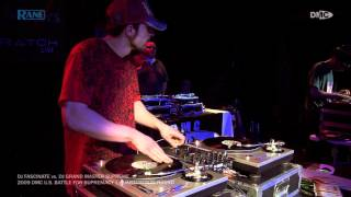 DJ Fascinate Vs. DJ Grand Master Supreme || 2009 DMC U.S. Battle For Supremacy || Quarterfinal Round