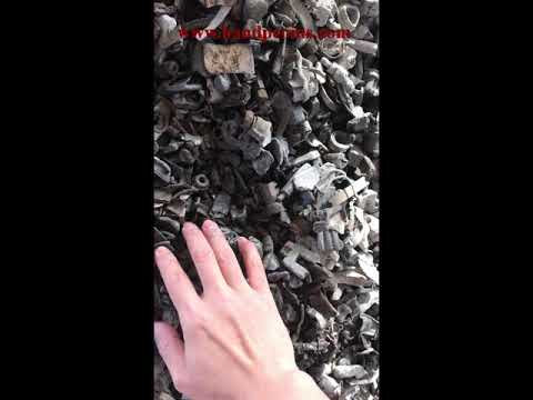 Coins in scrap metal plants in China