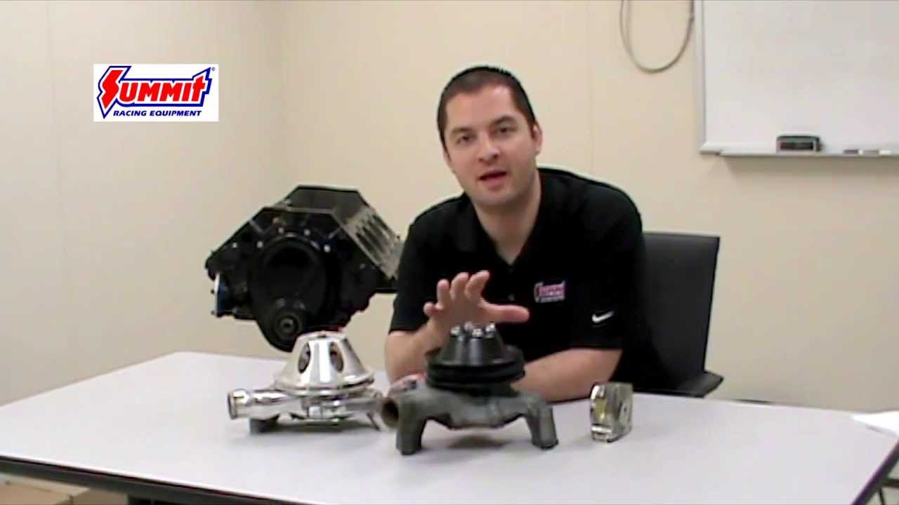 Chevy V8 Water Pump For Small Big Block Engine Summit Racing 1969 Camaro Wire Harness Routing Quick Flicks Youtube