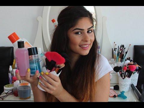 Makyaj fırçaları nasıl temizlenir ?