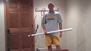 Dowel - Resistance Band Training For The Abs And Chest