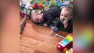 Top 10 FUNNY TWINS BABY ARGUING OVER EVRYTHING #2| Funny Babies and Pets