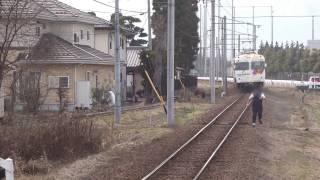 【鉄道トラブル】上高地線 救援列車連結作業