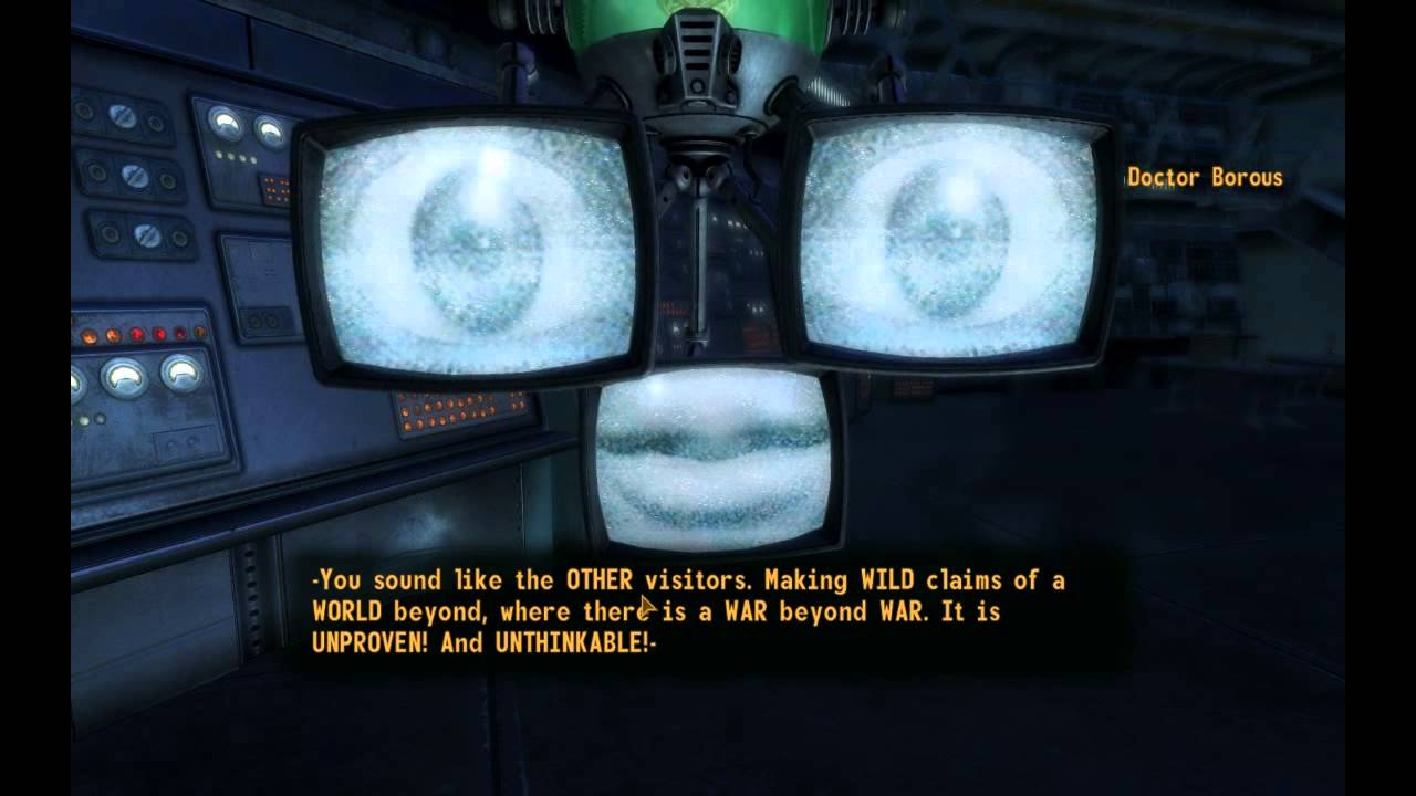 Fallout New Vegas Old World Blues DLC Walkthrough Episode 4 A Chat With DrBorous YouTube
