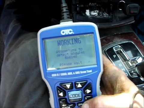 Cadillac CTS SBC Temp Sensor reading with OTC 3111 PRO