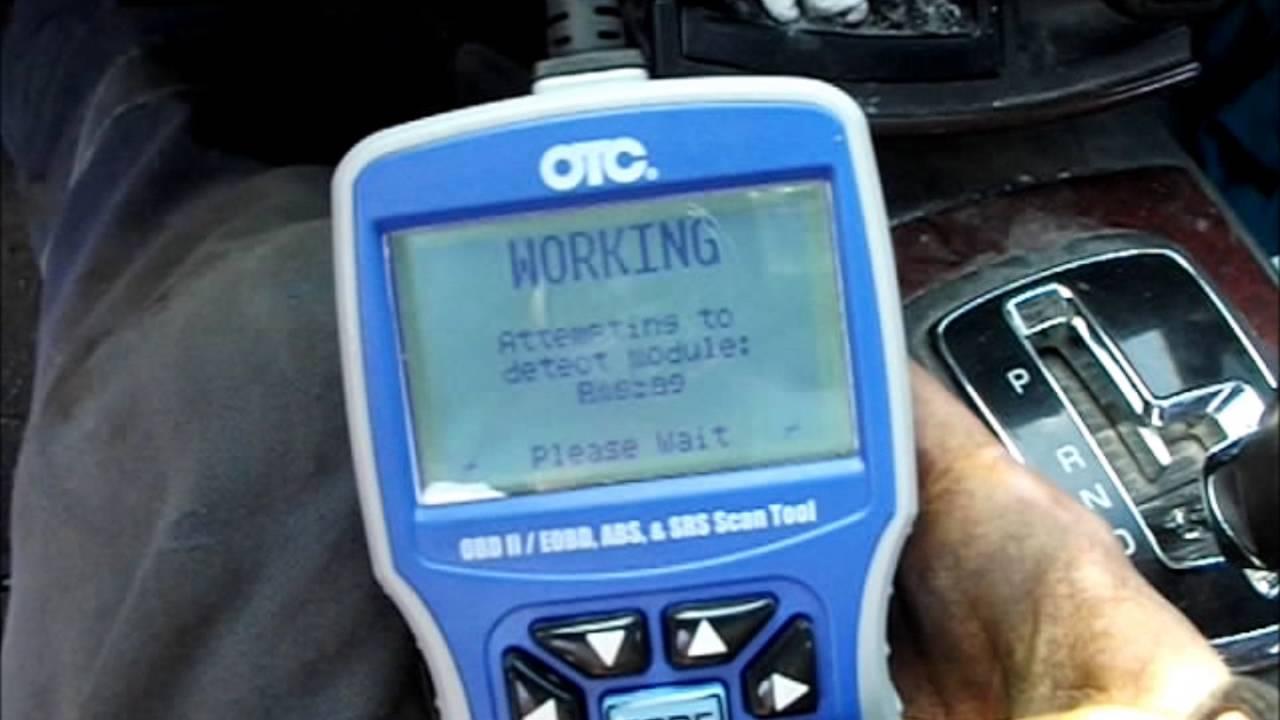 Cadillac Cts Sbc Temp Sensor Reading With Otc 3111 Pro Youtube