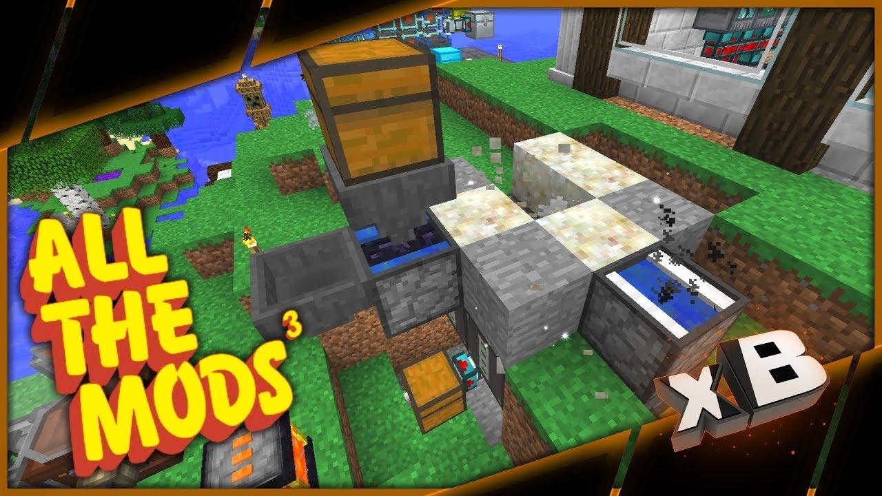 All the mods 3 diamond farm