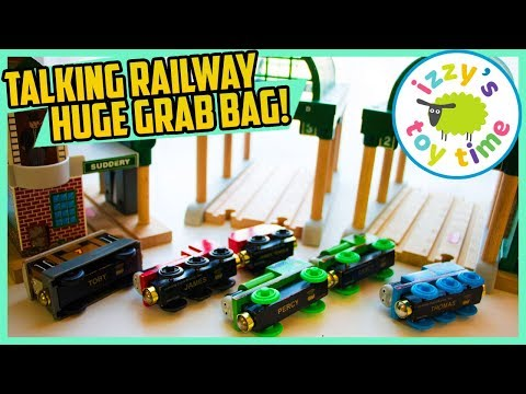 HUGE TALKING RAILWAY MYSTERY GRAB BAG! Thomas and Friends Fun Toy Trains for Kids!