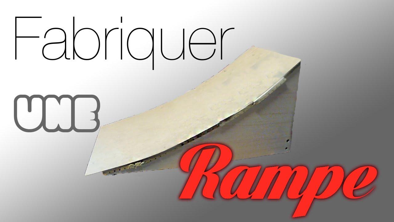 Fabriquer une Rampe  Tremplin  Kicker  VidClemProd  ~ Construire Une Rampe De Skate En Bois