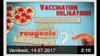 info / Vaccination obligatoire   recrudescence de la rougeole à cause des vaccins  ?