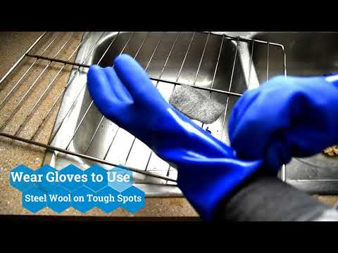 How to Clean Oven Racks with Bar Keepers Friend