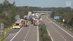 LKW Unfall - A29 beidseitig voll gesperrt