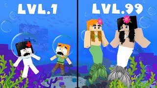 CROOK vs BOSS MERMAID GIRLS Life - Minecraft Animation
