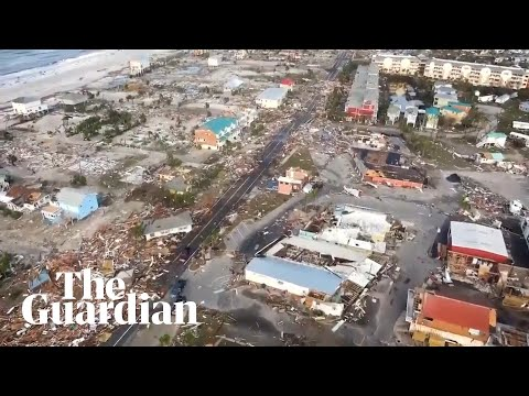 Hurricane Michael: footage shows devastation in Floridas Mexico Beach