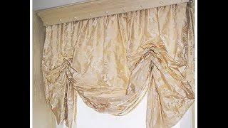 Шьем римскую штору мягкую.(В этом виде мы рассмотрим принцип пошива подъемной шторы с мягкими складками. Подробности здесь:http://shtory2013.bl..., 2014-10-14T09:02:36.000Z)