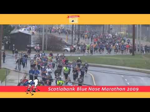 Scotiabank Blue Nose International Marathon Video 2009 Halifax, Nova Scotia