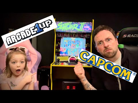 Arcade1Up Capcom Legacy Edition Review from Ra Ra Riley