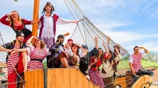 Camping Capfun 5* Les Dauphins Bleus - Grande journée sous le thème des Pirates