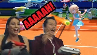 Kate's moaning can't distract Viet and Tim - BRL plays Mario Tennis Ultra Smash