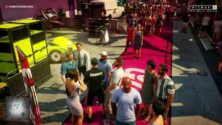 Hitman 2 Miami level   Direct capture at E3