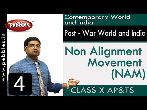 Non Alignment Movement (NAM) | Post - War World and India | Social Science | Class 10
