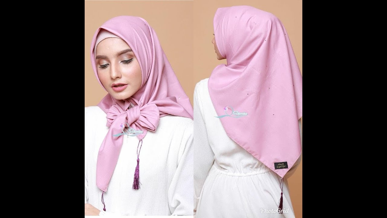 jilbab terbaru 2017 segi empat | model jilbab segi empat terbaru