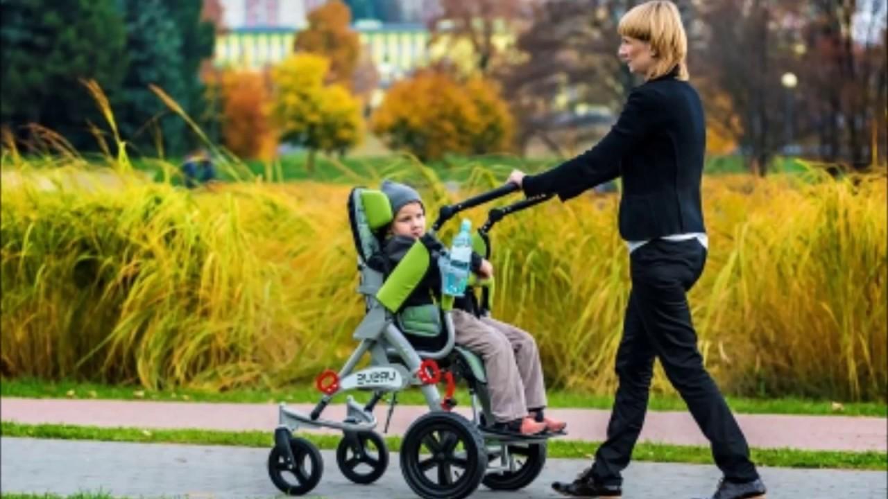 Детские инвалидные коляски для детей с дцп: кресла