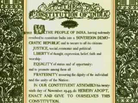 Indian Constitution Book In English