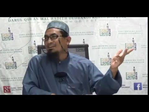 Maulana Fakhrurrazi | Pengajian Hadith Sunan Abu Daud | 15.04.2016