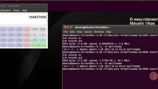 How To  create a file of arbitrary size In Linux Or Ubuntu using dd Step By Step Tutorial