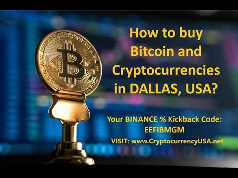 How To Buy Bitcoin And Cryptocurrencies In Dallas, USA?