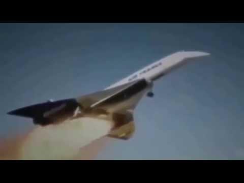 Крушение Конкорда от начала до конца Air France Рейс 4590