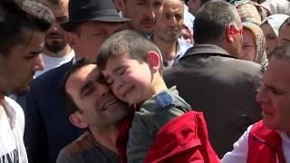 Şehit Uzman Çavuş Demirci'yi 10 bin kişi uğurladı