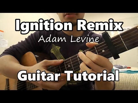 Ignition - R. Kelly Guitar Tutorial (Adam Levine cover)