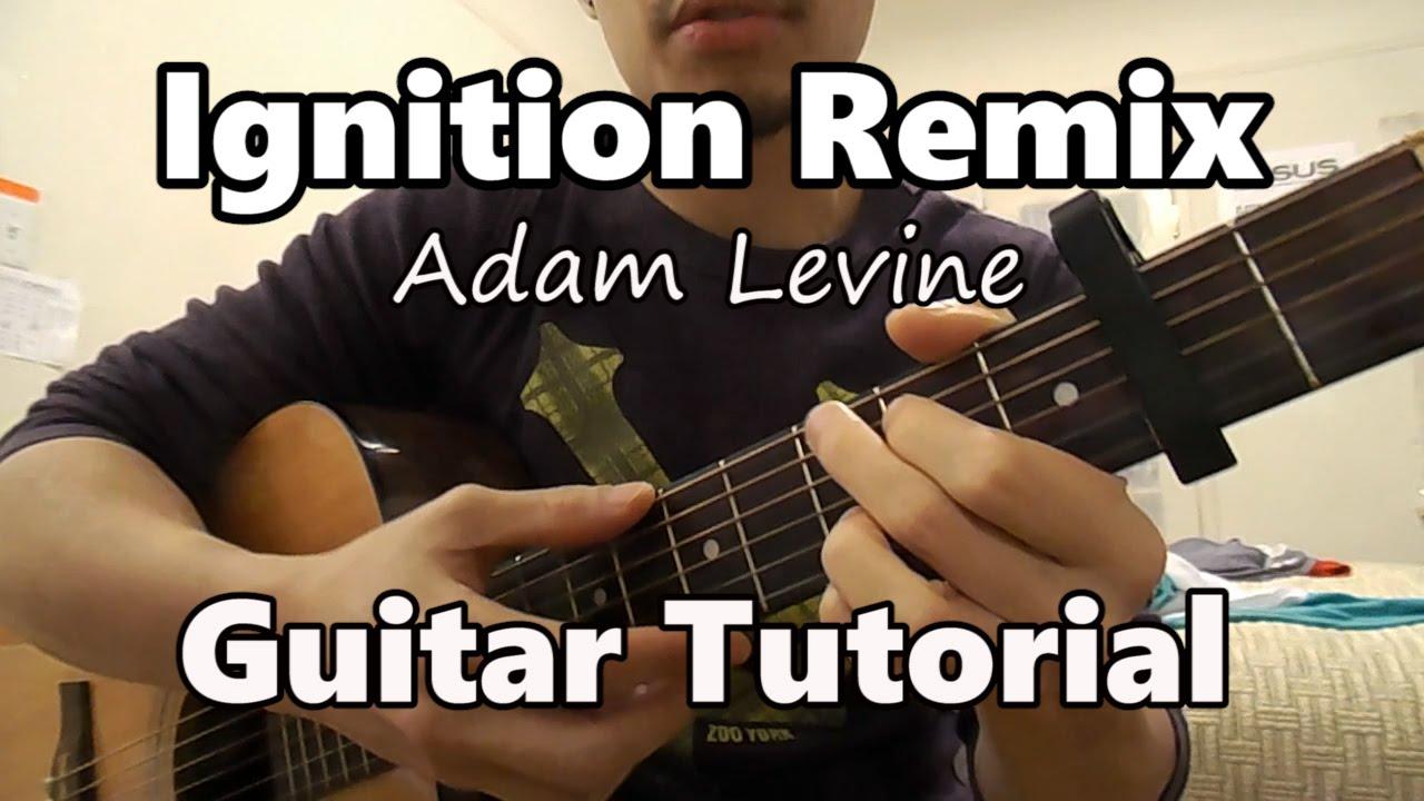 Ignition r kelly guitar tutorial adam levine cover youtube ignition r kelly guitar tutorial adam levine cover hexwebz Images