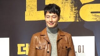 "[HEI영상] 조인성 ""영화 90% 이상 출연…감독에 동료애 느껴"""
