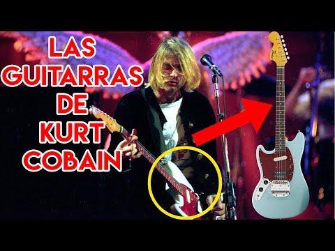 Kurt Cobain Y Las Guitarras Con Que Tocaba Con Nirvana En Vivo