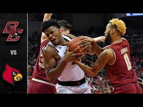 Boston College vs. Louisville Basketball Highlights (2018-19)