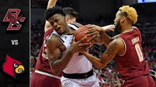 Boston College vs. Louisville Basketball Highlights (2018-19)